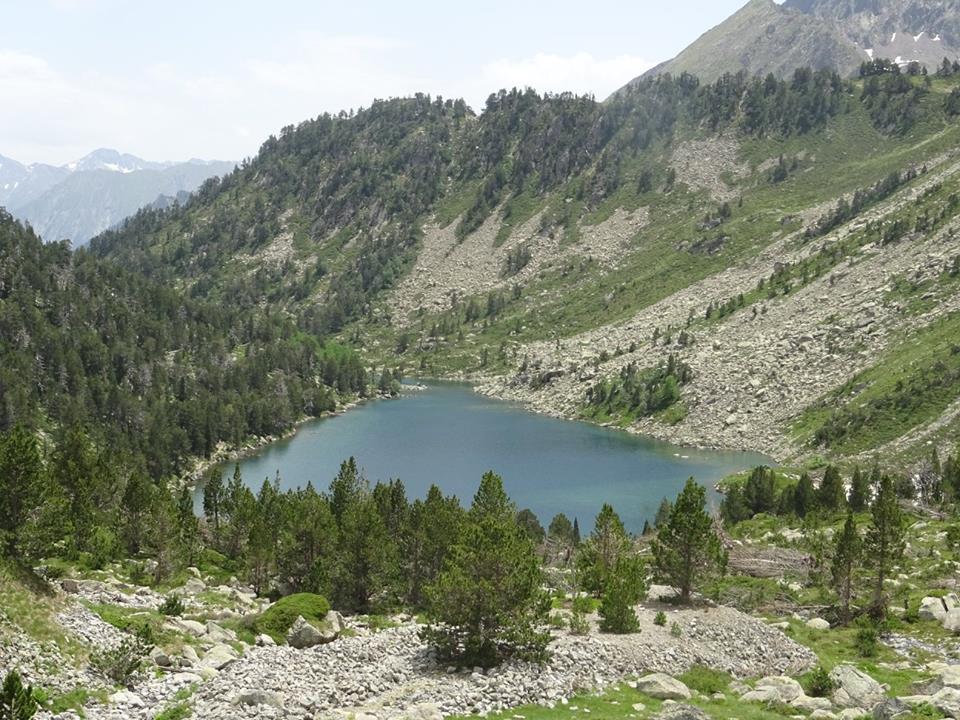 Lac d'Oredon, Les Laquettes, Lac d'Aubert et Lac d'Aumar
