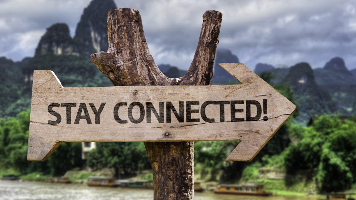 High-tech, où comment rester connecter