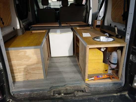Fabrication des meubles